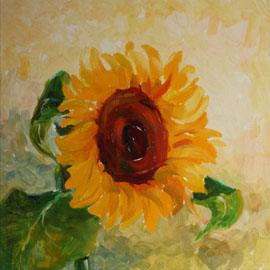 Sunflower. Oil. by Vera Ambroise.